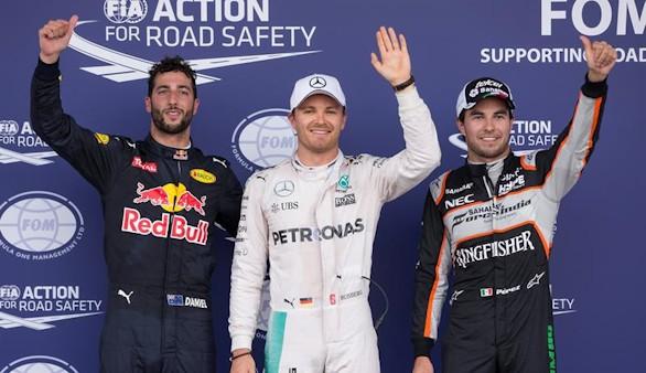 Rosberg logra su 'pole' 25 en el estreno de Baku