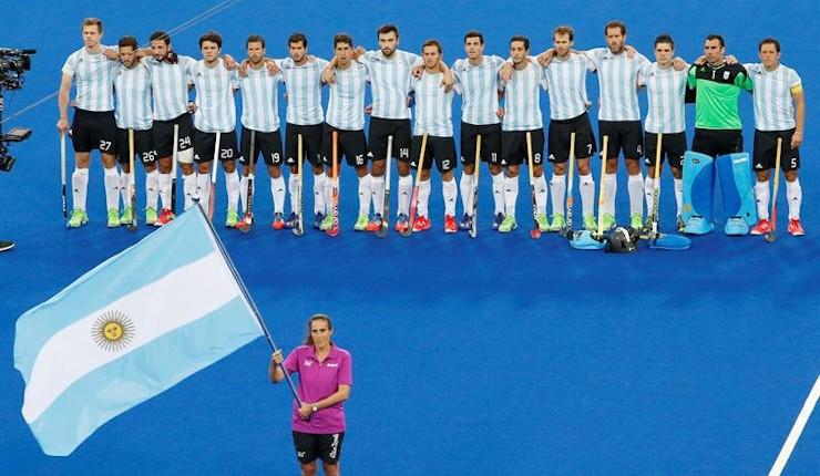 'Los Leones' argentinos empiezan su reinado olímpico en hockey