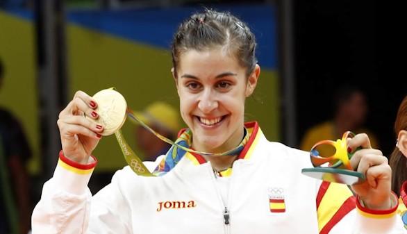 Carolina Marín es oro