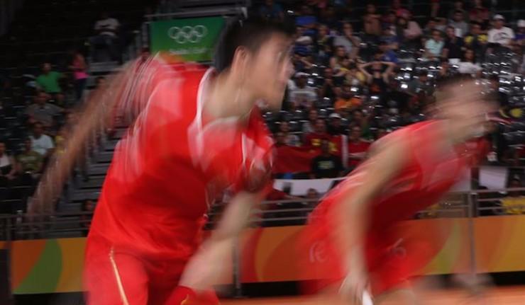 China triunfa en el doble de bádminton en el día de Carolina Marín