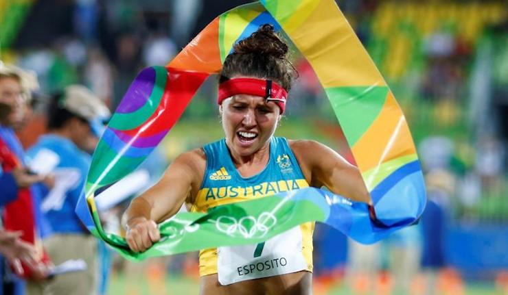 Chloe Esposito se cuelga el oro en pentatlón moderno femenino