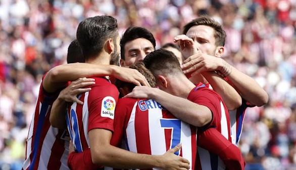 El Atlético somete al Sporting y Simeone calma a los suyos   5-0
