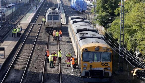 Los frenos no fallaron en el tren siniestrado en Porriño