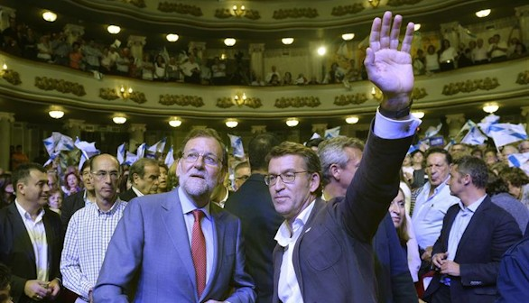 Galicia pone a prueba la única mayoría absoluta autonómica en pie
