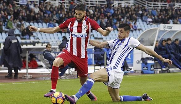 La energía del Atlético se esfuma y naufraga en Anoeta  2-0