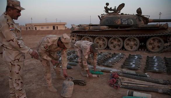 La ONU denuncia que Daesh almacena armas químicas en áreas civiles