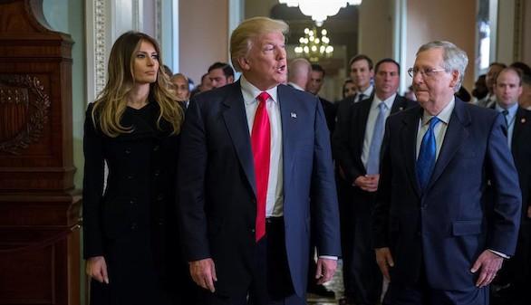 Michelle Obama enseña la Casa Blanca a su sucesora, Melania Trump