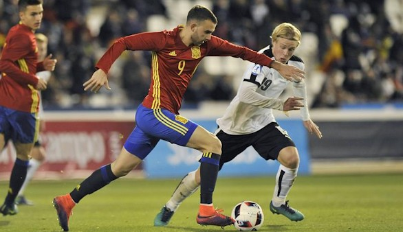 La España de Deulofeu, Saúl y Asensio jugará el Europeo sub-21   0-0
