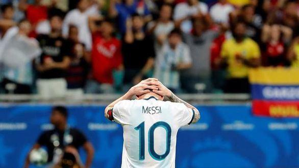 Copa América. Colombia acompleja a la Argentina de Messi | 0-2