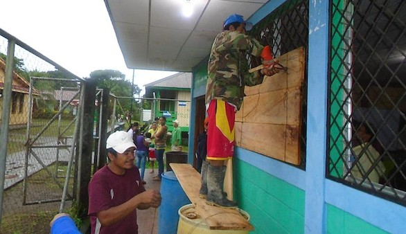 Nicaragua decreta la alerta de tsunami tras un terremoto de magnitud 7,2