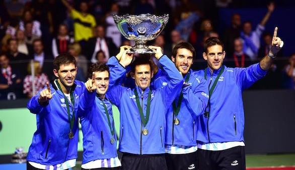 Argentina logra su sueño: gana la Copa Davis