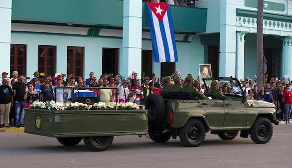 Los restos mortales de Fidel Castro regresan a su tierra natal