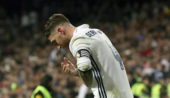 Sergio Ramos vuelve a ser baja en el entrenamiento y es duda para el jueves