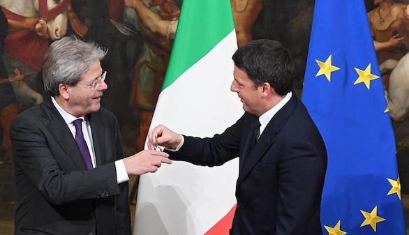 Gentiloni jura como presidente de un Gobierno continuista para Italia