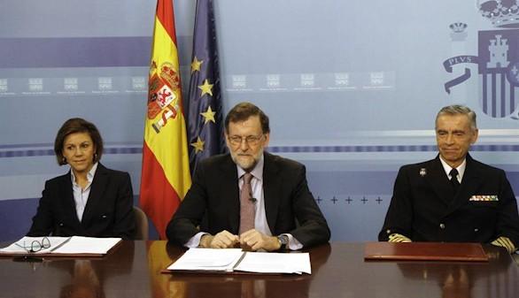 Rajoy, a las tropas: