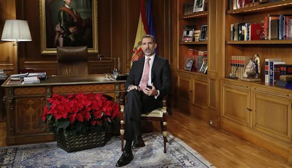 PP, PSOE y Ciudadanos elogian el discurso de Navidad del Rey