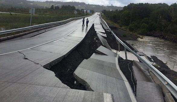 Un sismo de 7,6 grados sacude la región sur de Chile