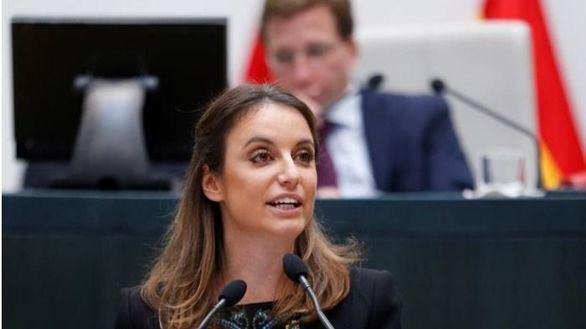 Andrea Levy, consejera de Cultura, Deporte y Turismo