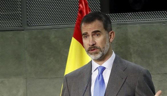 Felipe VI reclama la