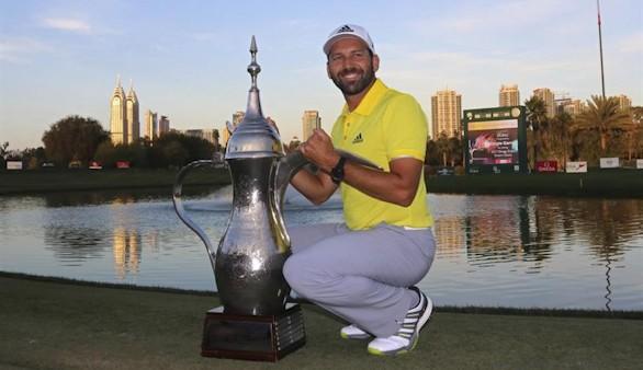Sergio García vuelve a saborear el triunfo en Dubai