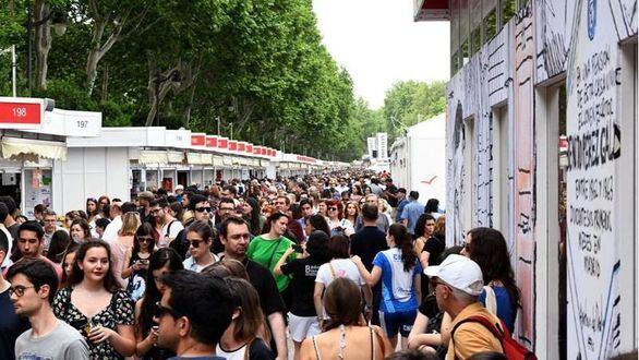 La Feria del Libro sube un 14% sus ventas y recauda 10 millones de euros