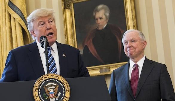 Así ha sido el polémico estreno del fiscal general nominado por Trump