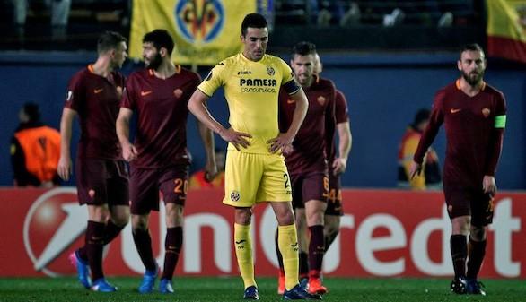 Europa League. La jerarquía de la Roma somete y sentencia al Villarreal | 0-4