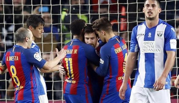 Resumen de la liga el peor barcelona juega con el fuego for En que canal juega el barcelona