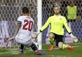 Liga de Campeones. El Sevilla domina y daña a un Leicester que sale vivo   2-1