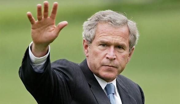 Bush, contra Trump: