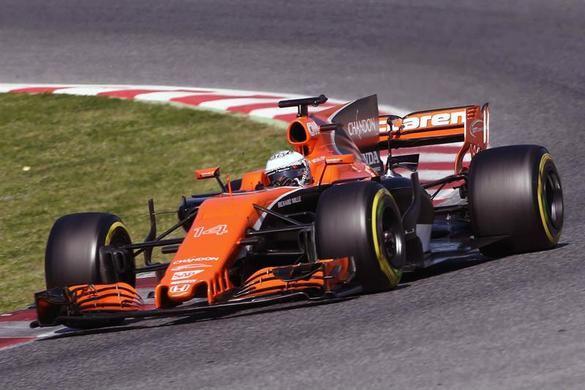 Fórmula 1. El McLaren de Alonso decepciona
