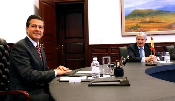 Peña Nieto valora el papel de España en el
