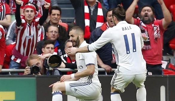 Un Real Madrid guerrero defiende el liderato ante el Athletic | 1-2