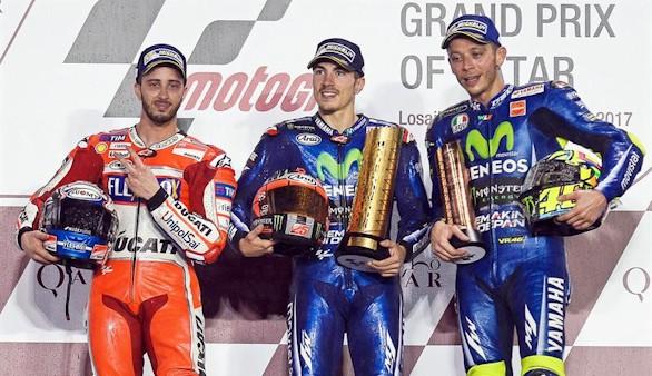 Gran Premio de Catar. Viñales estrena liderato en una oda al pilotaje
