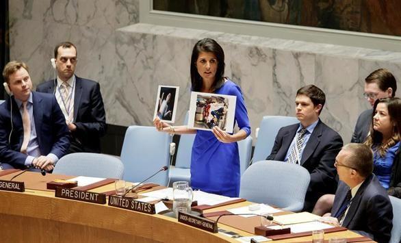 Estados Unidos amenaza con atacar Siria si la ONU no actúa