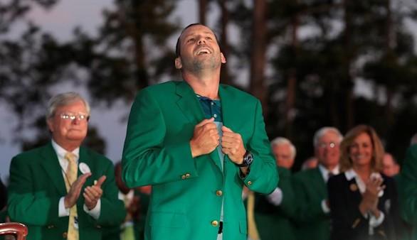 Masters de Augusta. Sergio García conquista el cielo del golf