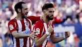 El Atlético festeja y se impusla ante Osasuna   3-0
