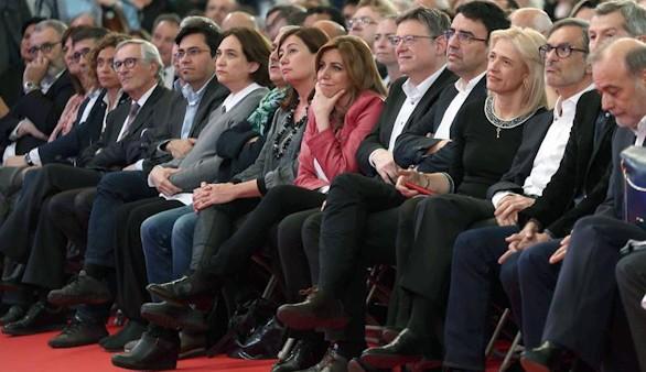 Susana Díaz tratará de superar los 41.338 avales que logró Sánchez en 2014