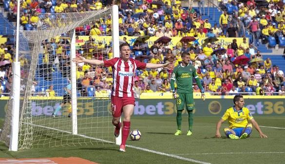 El Atlético se relame como tercero y abochorna a Las Palmas | 0-5