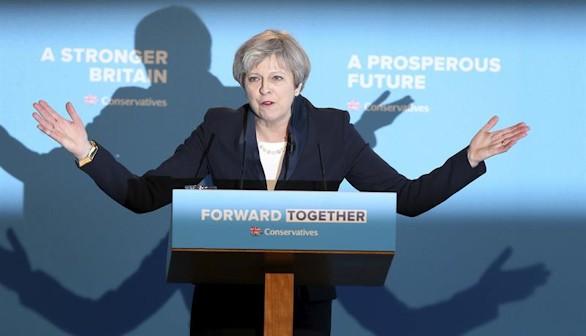 Los jubilados británicos, frente a Theresa May