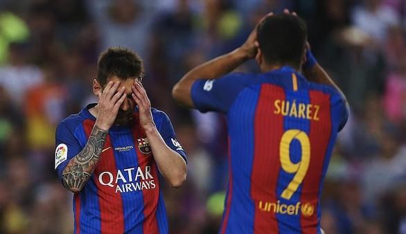 El Barcelona sólo puede esquivar la debacle ante el Eibar | 4-2