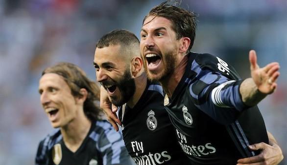 El Real Madrid, campeón de la Liga