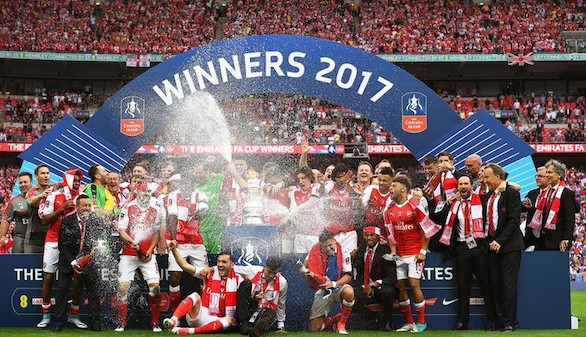 FA Cup. El Arsenal evita el doblete del Chelsea en una final espectacular | 2-1