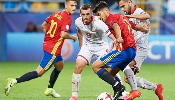 Europeo Sub-21. Tres golazos de Asensio lanzan el debut de España | 5-0