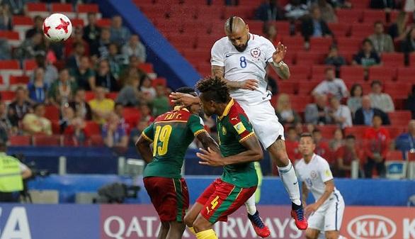 Copa Confederaciones. Vidal y Chile tumban a Camerún y al VAR | 0-2