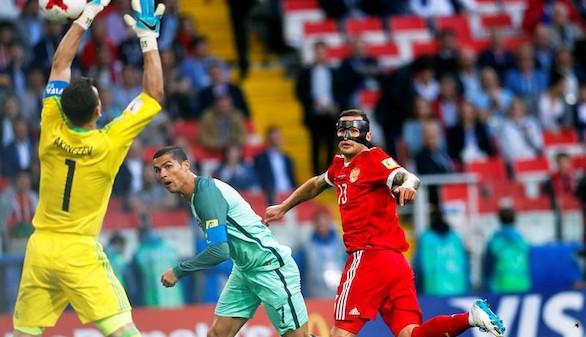 Copa Confederaciones. Ronaldo rescata a Portugal ante Rusia | 0-1