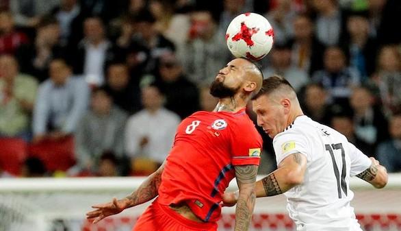 Copa Confederaciones. Chile arrodilla pero no gana a la cantera de Alemania | 1-1