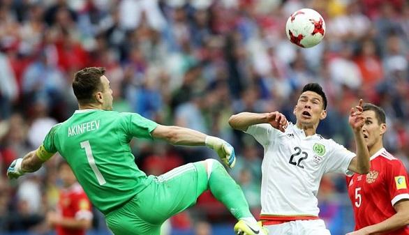 Copa Confederaciones. México remonta a Rusia, la elimina y es semifinalista | 2-1