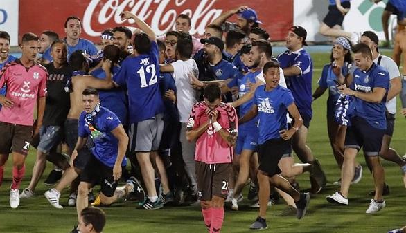 Ascenso a Primera. El Getafe vuelve a LaLiga tras remontar al Tenerife   3-1