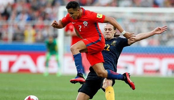 Copa Confederaciones. Chile tropieza ante Australia y jugará contra Portugal | 1-1